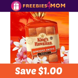 Coupon: Save $1.00 on King's Hawaiian