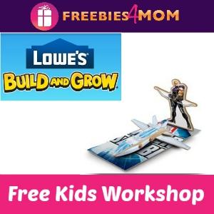 Free Hawkeye's Quinjet Lowe's Kids Clinic