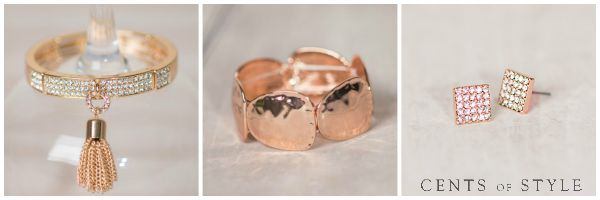 40% off Rose Gold Accessories