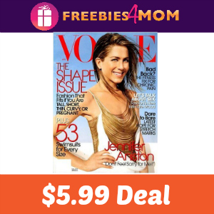 Magazine Deal: Vogue $5.99