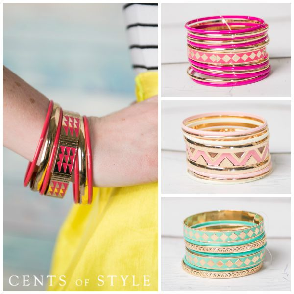 $4.99 Bangle Set (+Earrings Deal)