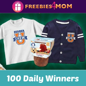 Sweeps Gerber Chew U (100 Daily Winners)