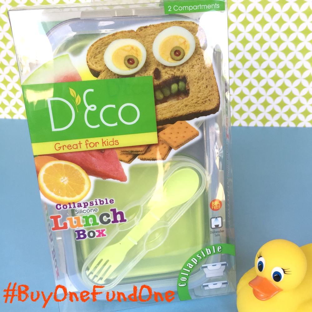 D'Eco Collapsible Kids Lunch Box