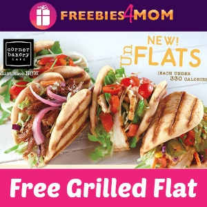 Free Grilled Flat at Corner Bakery Cafe