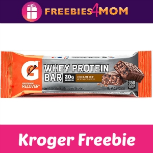 Free Gatorade Protein Bar at Kroger