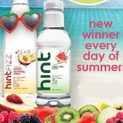 Hint Water Summer Promotion