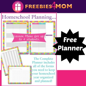 Free All-In-One Homeschool Planner