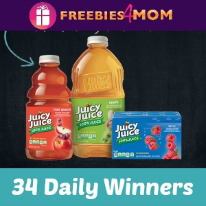 Sweeps Juicy Juice Makeover (34 Daily Winners)