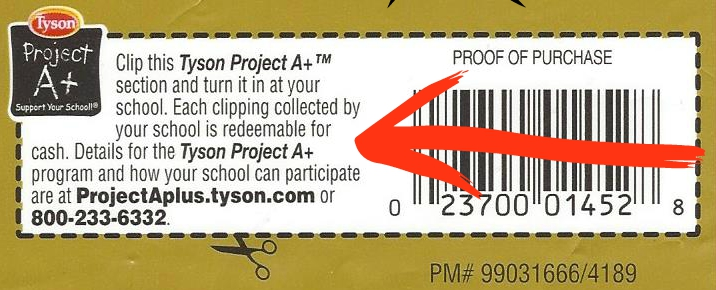 Tyson Project A+ label