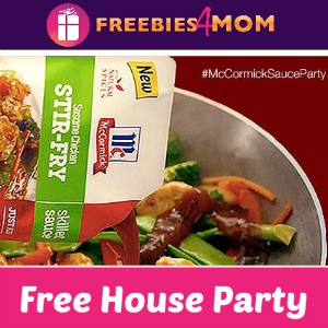 Free House Party: McCormick Skillet Sauces