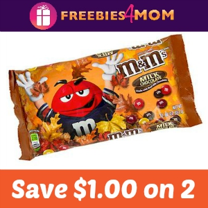 Coupon: Save $1.00 on 2 M&M's Candies