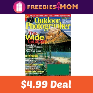 Magazine Deal: Outdoor Photographer $4.99