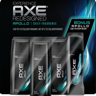 AXE® Apollo Deodorant Stick, Bonus Pack