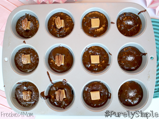 Salted Caramel Chocolate Chunk Brownies