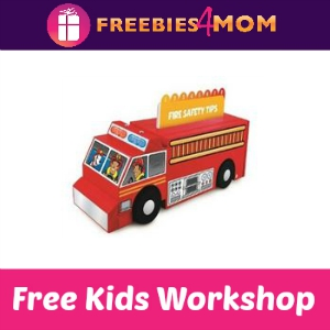 Free Fire Truck Lowe's Kids Clinic Build
