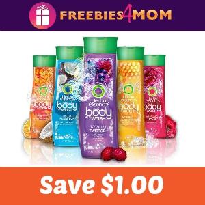 Save $1.00 on Herbel Essences Body Wash