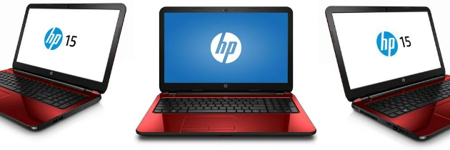 "Win an HP Flyer Red 15"" Laptop from Intel"
