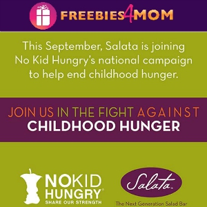 Salata No Kid Hungry Fundraiser