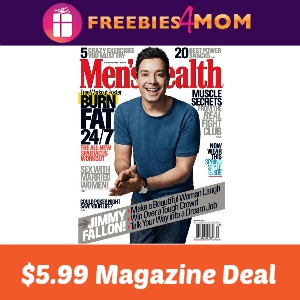 Magazine Deal: Men's Health $5.99
