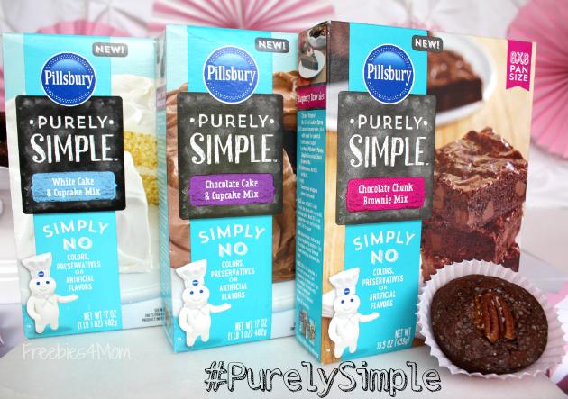 Pillsbury Purely Simple Baking Mixes