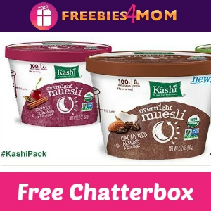 Free Chatterbox: Kashi Overnight Muesli