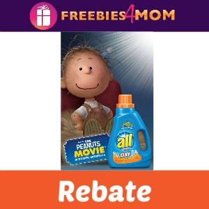 Rebate: $5 off Ticket to Peanuts Movie