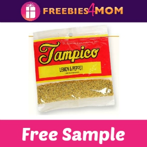 Free Sample Tampico Lemon Pepper