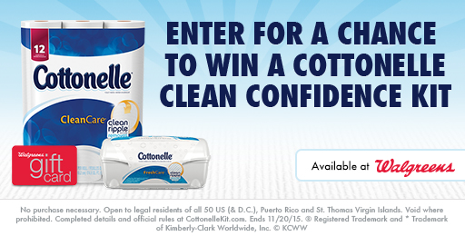 Cottonelle® Clean Confidence Sweepstakes
