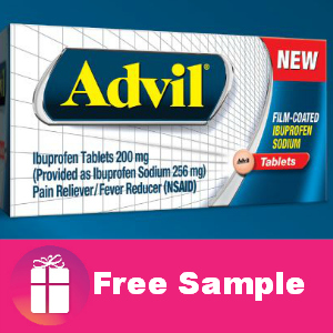 Free Sample of Advil from Target