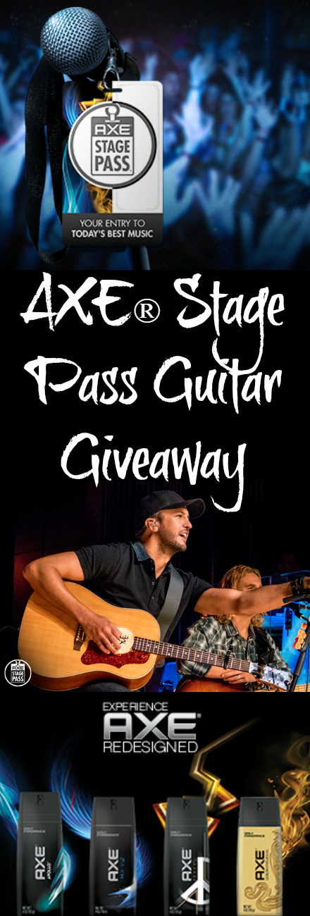 AXE® Stage Pass Guitar Giveaway