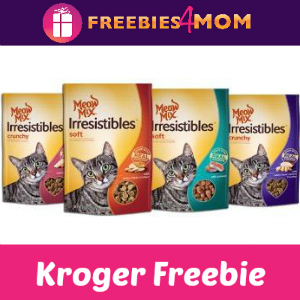 Free Meow Mix Irresistibles Cat Treats at Kroger