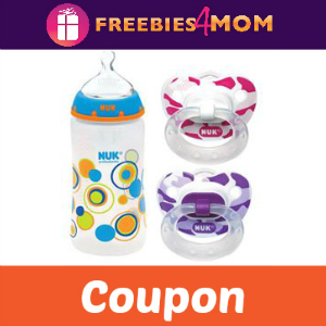 Free Nuk Bottle with Pacifier Purchase