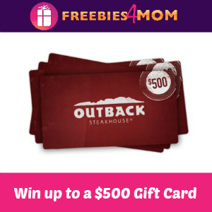 Free Outback Steakhouse Gift Cards & Coupons
