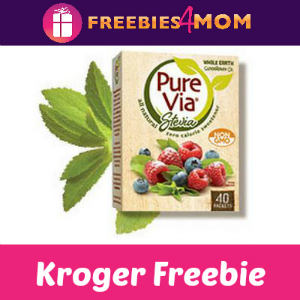 Free Pure Via Stevia Sweetner at Kroger