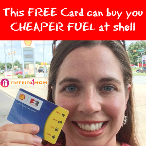 cheaper fuel at Shell with this free card