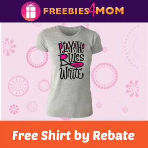 Rebate: Free Playtex Sport Fit to Play T-shirt