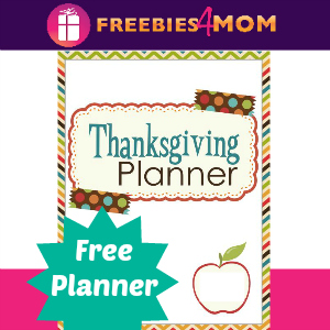 Free Thanksgiving Planner For Busy Moms
