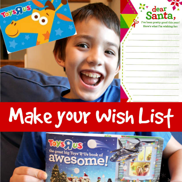 "Make your Christmas Wish List at Toys""R""Us"