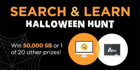 Swagbucks Search & Learn Halloween Hunt