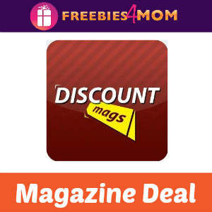 Buy One, Get One 50% Off Magazines