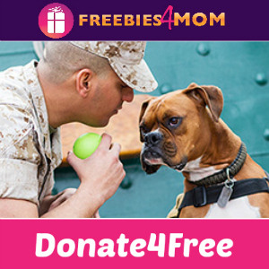 Donate4Free: Purina Dogs on Deplomyment