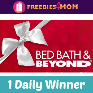 Sweeps Bed, Bath & Beyond Holiday Happy