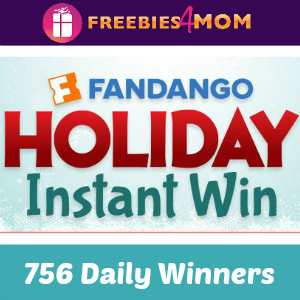 Sweeps Fandango Holiday Instant Win