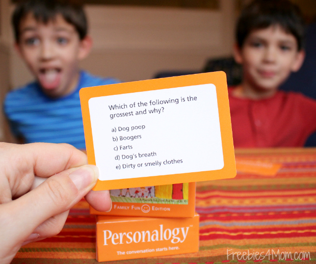 Personalogy Family Fun Edition Game