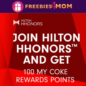 100 Free My Coke Reward Points