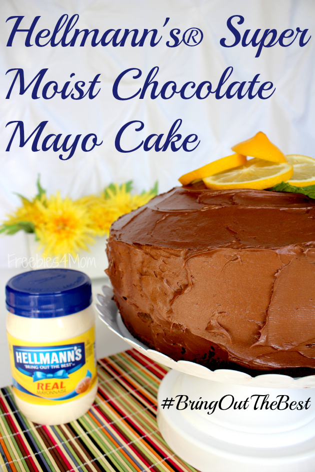 Easy Chocolate Mayo Cake Recipe