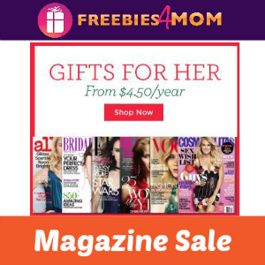Magazine Gifts For Her