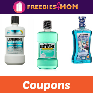 Coupons: Save on Listerine