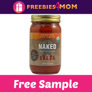 Free Sample Naked Infusions Gourmet Salsa
