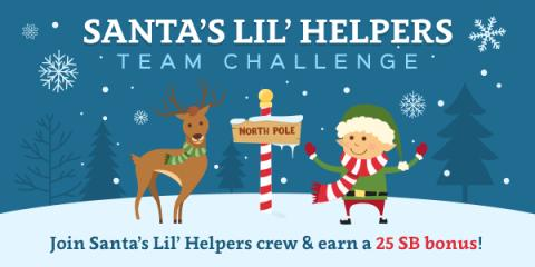 Swagbucks Santas Little Helpers Team Challenge